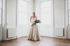Dresses: Elizabeth Dye and Truvelle from Heart Aflutter Bridal