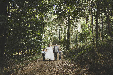 Small forest wedding in Portugal Small destination wedding in a forest in Sintra, Portugal, near palacio da pena by destination wedding photographer jesus caballero