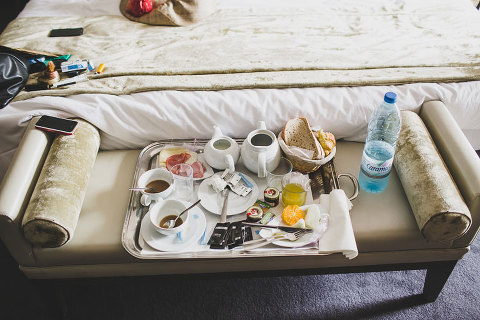 bride to be breakfast at chiado hotel in lisbon