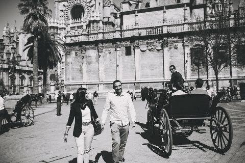 destination wedding in seville