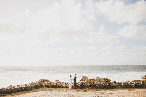 praia del rey golf beach wedding