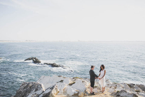 peniche surf wedding photographer in baleal for a destination  elopement of a couple little california school surf #portugal #peniche #surf #surfer #wedding #destination #germany #norway #uk #londoners #canadian #surfschool #different #littlecalifornia #california #elopement #vows #cliffs