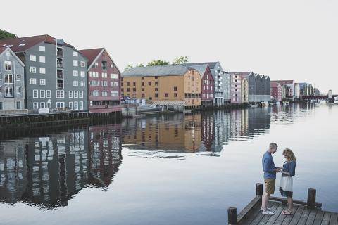 destination wedding in trondheim, Norway photographer