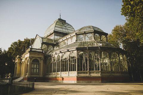 palacio de cristal in retiro park cristal palace
