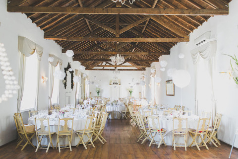 sintra small wedding Wedding decoration Quinta Santa Ana