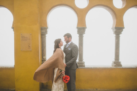 sintra pena palace wedding photographer