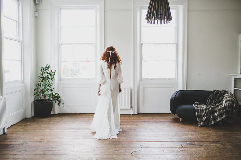 London scandi boho wedding photographer