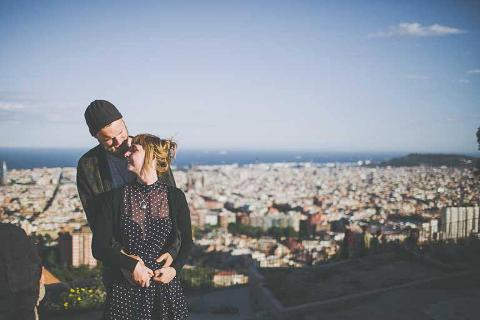 barcelona boho elopement wedding photographer