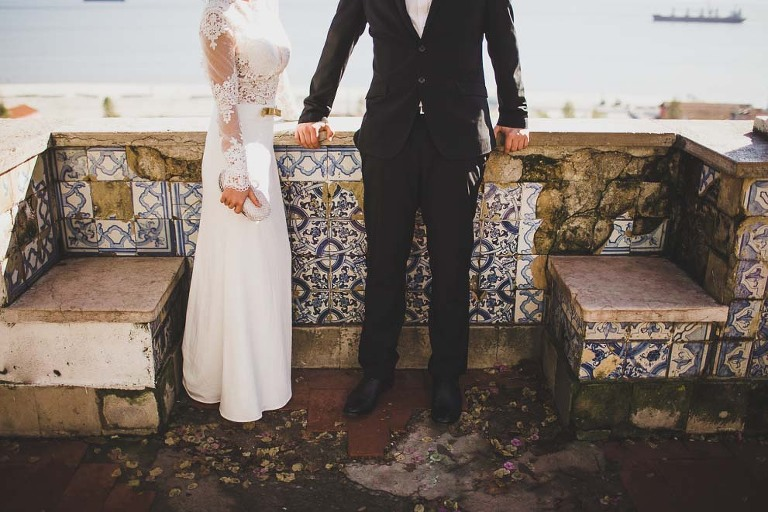 obidos boho elopement wedding photographer