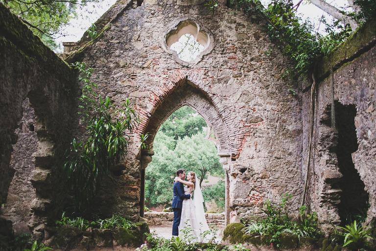 monserrate palace sintra wedding photographer sintra elopements