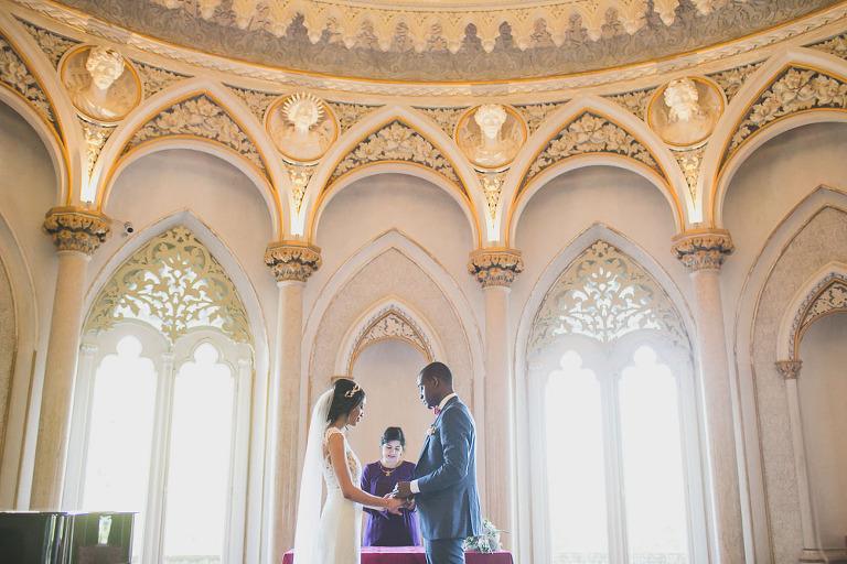 Monserrate palace sintra elopement photographer