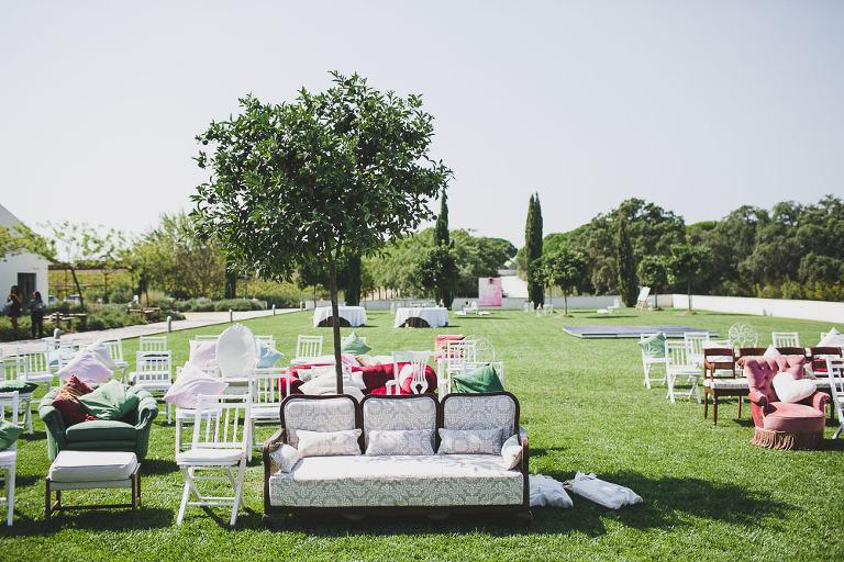 Portugal shabby chic destination wedding