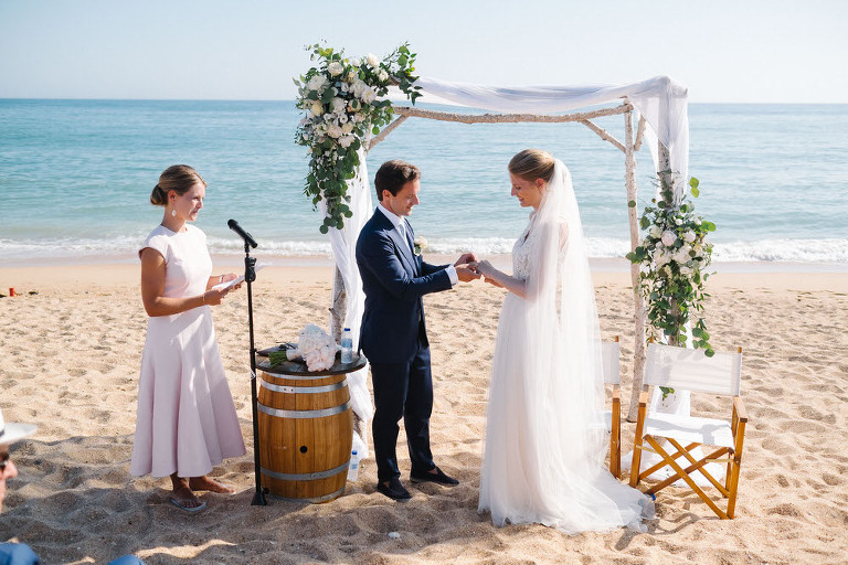 marieke-michiel slideshow - dos passos beach wedding
