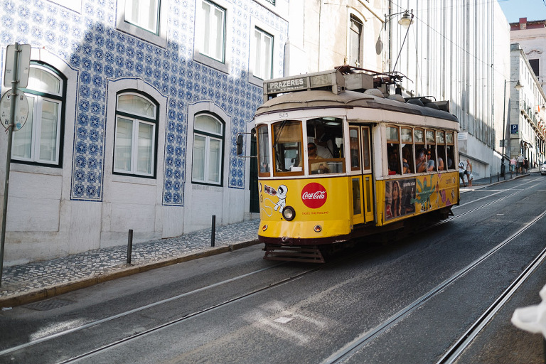 trams and tiles at lisbon