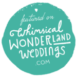 published whimsical wonderland wedding Jesus Caballero Photography